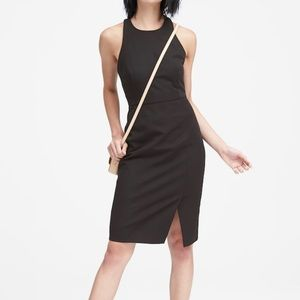Banana Republic Racer Back Sheath Dress